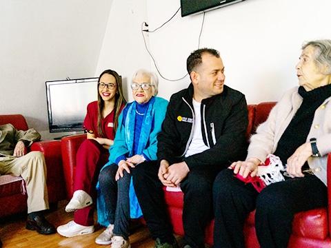 Servicios y Actividades Residencia Las Condes Adulto Mayor CASA SENIOR