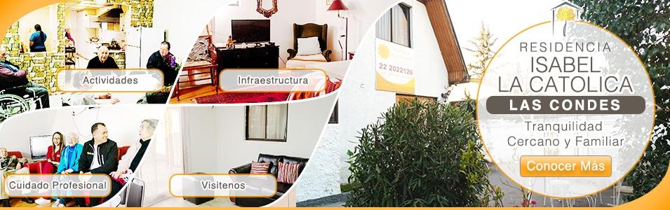 Residencia Las Condes - Cuidado y Tranquilidad en un Ambiente Cercano y Familiar CASA SENIOR