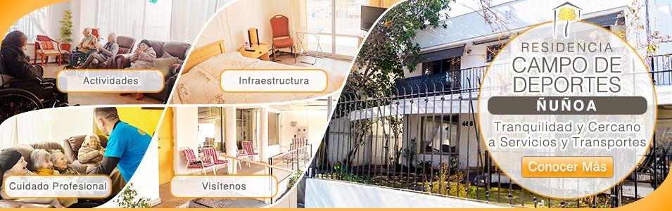 Residencia �u�oa CASA SENIOR PIRQUE �U�OA LAS CONDES RESIDENCIA ADULTO MAYOR