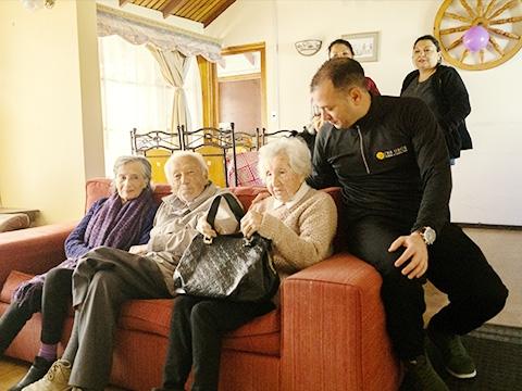 Servicios y Actividades Residencia Pirque Adulto Mayor CASA SENIOR