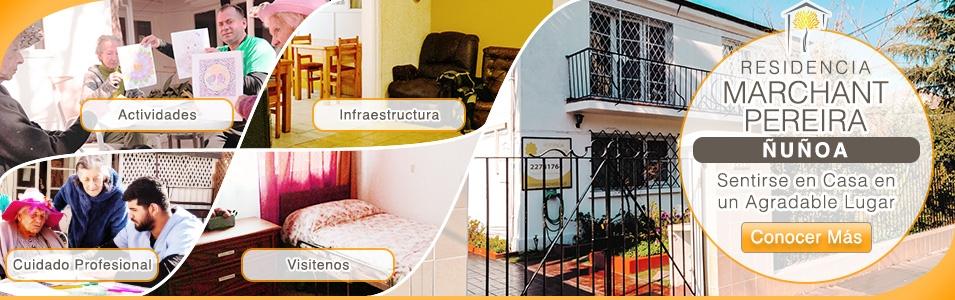 Residencia Ñuñoa Marchant Pereira Adulto Mayor CASA SENIOR